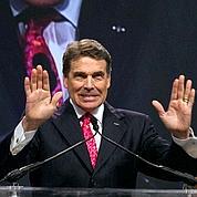Le Texan Rick Perry entre en piste