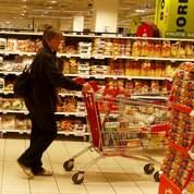 Baisse des ventes dans les supermarchés