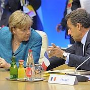 Crise: le front commun Sarkozy-Merkel