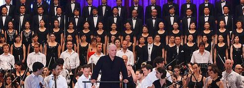 L'Hymne à la joie résonne à la frontière nord-coréenne