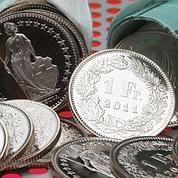 Flambée du franc suisse face à l'euro