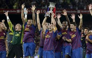 Le Barça remporte son premier trophée de la saison