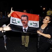 Damas, forteresse sous le contrôle d'el-Assad