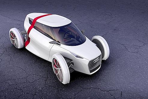 L'Audi urban concept Spyder.