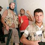 Un pro-Kadhafi arrêté par les rebelles.