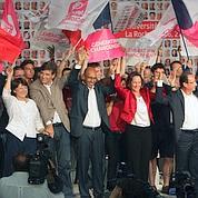 PS : les 6 candidats main dans la main