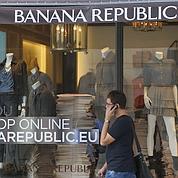 Paris:une boutique Banana Republic