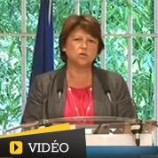 Sécurité : Aubry défie Guéant à Marseille