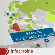 La reconnaissance du CNT libyen en carte