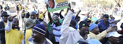Le chef des jeunes de l'ANC divise l'Afrique du Sud