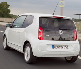 Ouvrir trappe essence volkswagen up