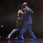 Leçons de tango au Trocadéro