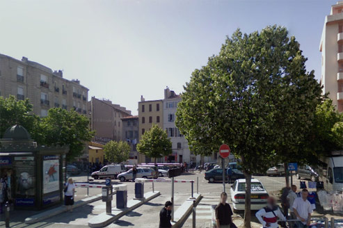 Le parking de la Porte d'Aix. Crédit : capture d'écran Google Maps