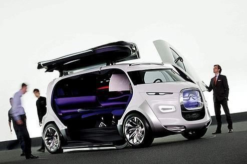 Démonstration de la créativité des designers de Citroën, Tubik va frapper les esprits tant