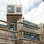 Au Havre, un immeuble est construit en usine