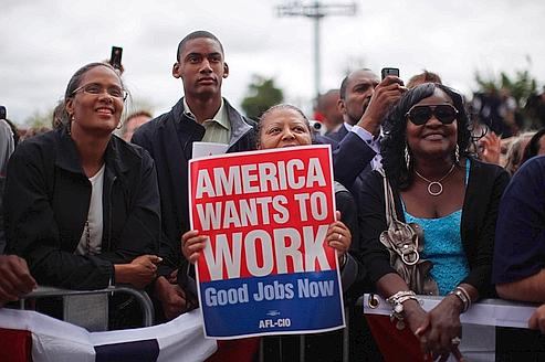 Le pari électoral d'Obama sur l'emploi