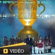 Mondial de Rugby : un coup d'envoi grandiose