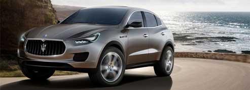 Maserati Kubang: sur les traces du Cayenne