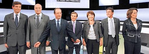 Débat PS : six candidats, <br/>deux rivaux<br/>