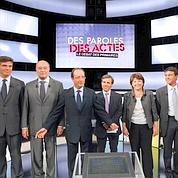 Débat PS : six candidats, deux rivaux