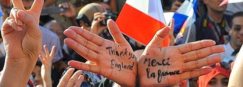 Benghazi, la ville dont <br/>le président français est le héros<br/>