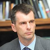 Fin de la «carrière» de Prokhorov
