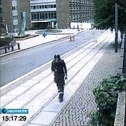Le tueur d'Oslo filmé par vidéosurveillance