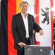 Klaus Wowereit, roi de Berlin et rival de Merkel