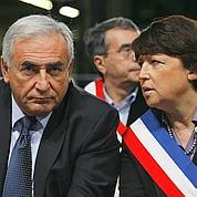 DSK ravive la rivalité Hollande-Aubry