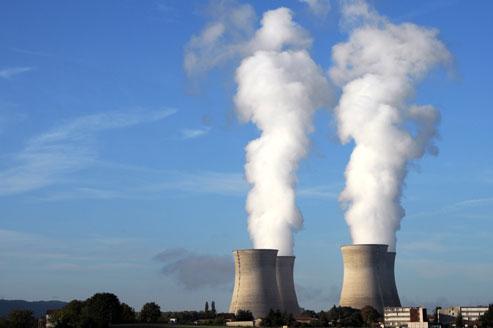 La centrale nucléaire du Bugey, sur la commune de Saint-Vulbas dans l'Ain.