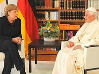 Le Pape et Angela Merkel se sont rencontrés ce jeudi matin à Berlin.