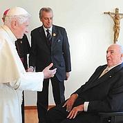 Benoît XVI secoue les catholiques allemands