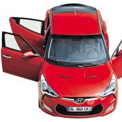Hyundai Veloster: 1er prix d'architecture