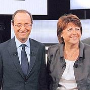 Primaire: Aubry reste en retard sur Hollande