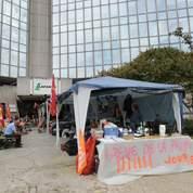 Des salariés de Lafarge en grève de la faim