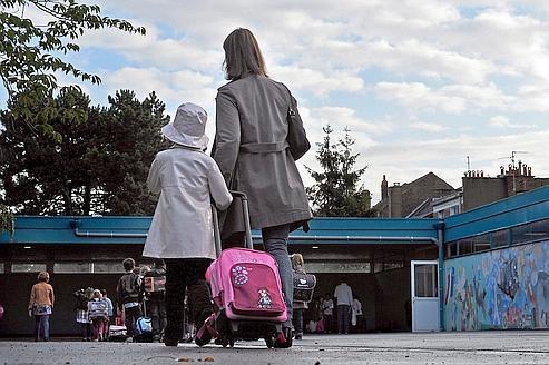 Le temps partagé entre parents et enfants a tendance à se réduire(Illustration).