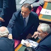 Sénat : Jean-Pierre Bel élu dans un fauteuil