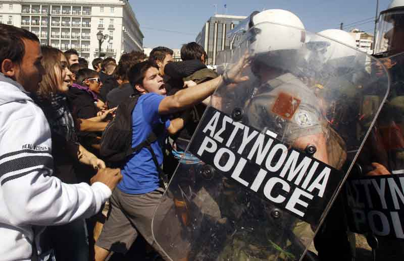 Cure d'austérité en Grèce