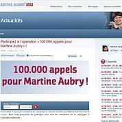 Aubry recrute 15.000 militants pour gagner