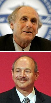 Ralph Steinmann (en haut), décédé il y a trois jours, et Bruce Beutler (en bas), récompensés pour leurs travaux sur le système immunitaire.