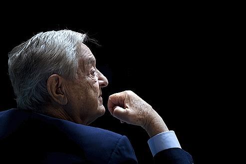 George Soros, lors d'un séminaire du Fonds Monétaire Internationnal et de la Banque Mondiale , le 24 septembre dernier à Washington.