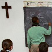 Afflux d'élèves dans les écoles catholiques