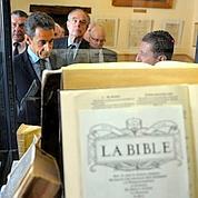 Sarkozy fait l'éloge de la liberté de conscience