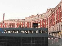 L'hôpital américain à Neuilly sur Seine. (Crédits photo: AFP)