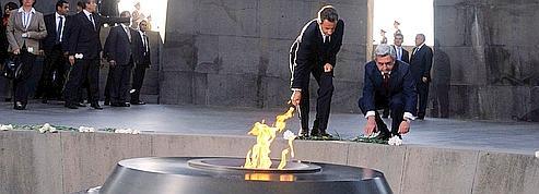 Génocide arménien: l'injonction de Nicolas Sarkozy à la Turquie