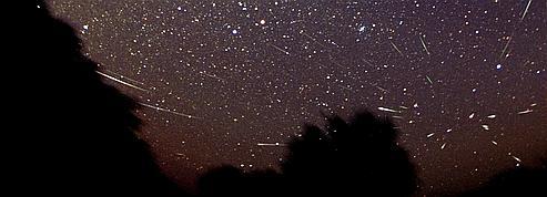 Pluie d'étoiles filantes sur la Francesamedi soir