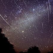 Pluie d'étoiles filantes sur la Francesamedi