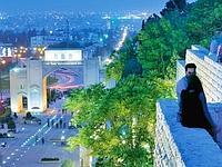 La Porte du Coran à Chiraz.