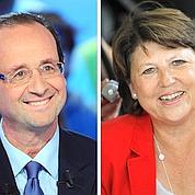 Primaire PS : Hollande en tête devant Aubry