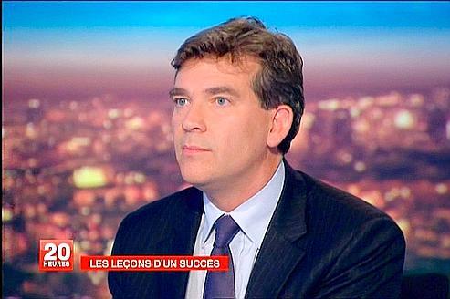 Arnaud Montebourg, lundi sur France 2.